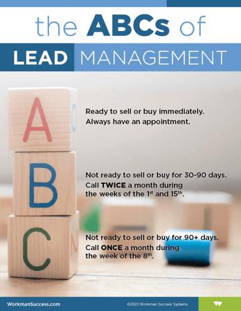 ABCs of Lead Management